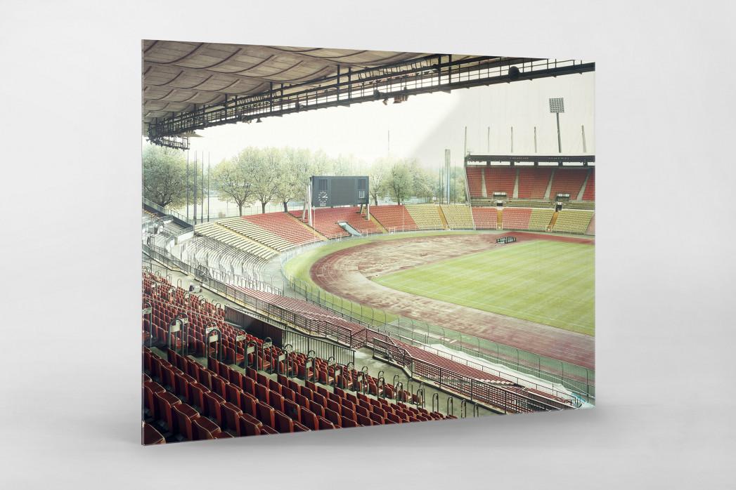 Witness Of Glory Times: Düsseldorf als Direktdruck auf Alu-Dibond hinter Acrylglas