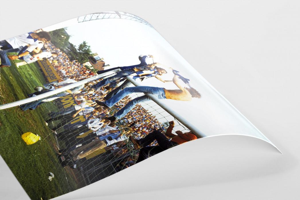 HSV Fans auf dem Tor als FineArt-Print