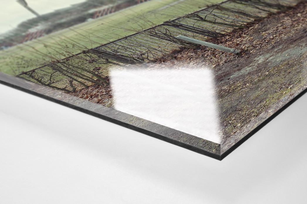 Witness Of Glory Times: Hamburg (2) als Direktdruck auf Alu-Dibond hinter Acrylglas (Detail)
