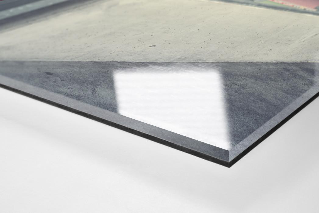 Witness Of Glory Times: Kaiserslautern als Direktdruck auf Alu-Dibond hinter Acrylglas (Detail)