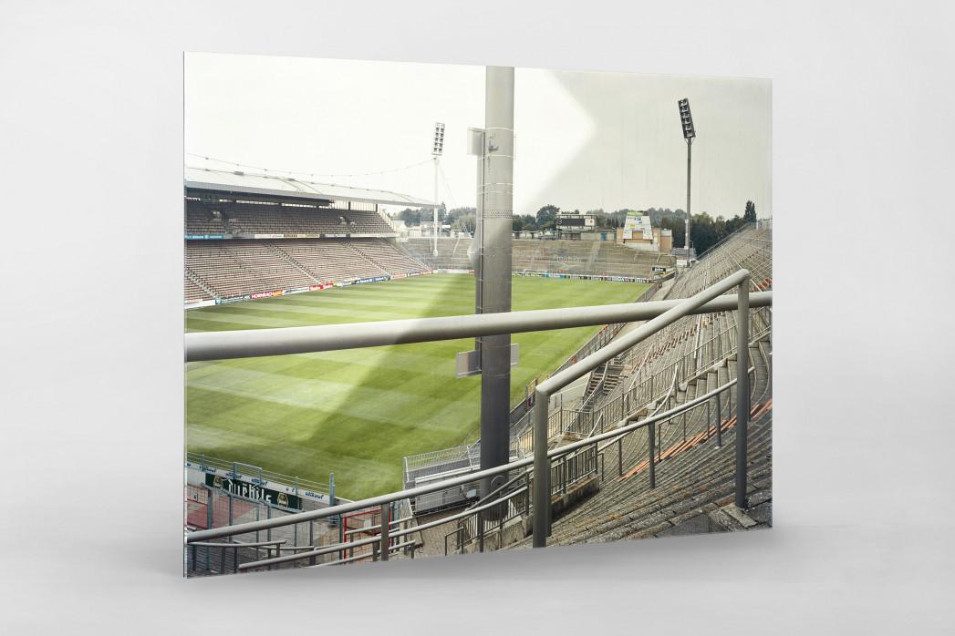 Witness Of Glory Times: Mönchengladbach (1) als Direktdruck auf Alu-Dibond hinter Acrylglas