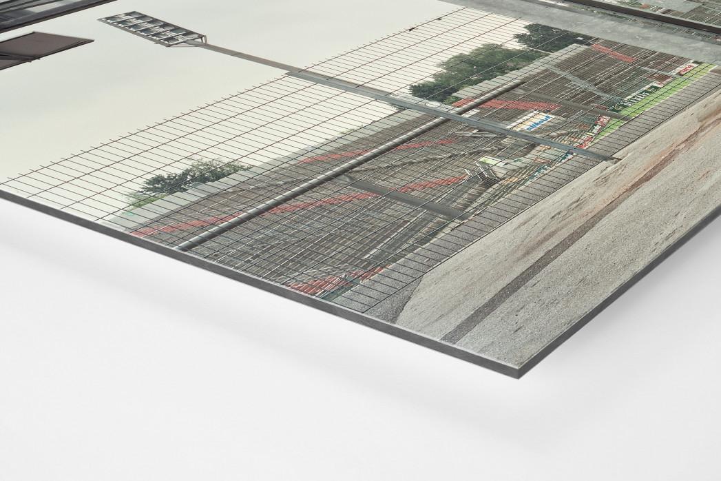 Witness Of Glory Times: Mönchengladbach (3) als auf Alu-Dibond kaschierter Fotoabzug (Detail)