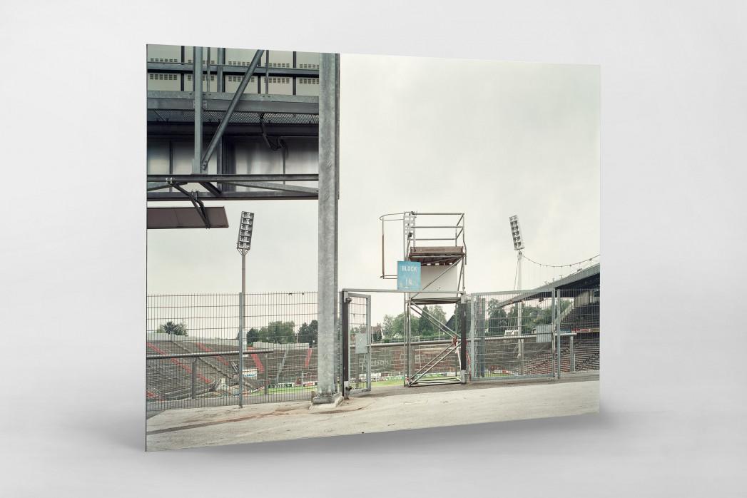 Witness Of Glory Times: Mönchengladbach (3) als auf Alu-Dibond kaschierter Fotoabzug