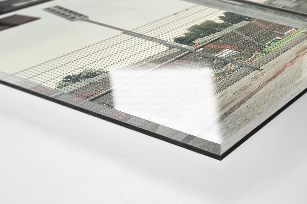 Witness Of Glory Times: Mönchengladbach (3) als Direktdruck auf Alu-Dibond hinter Acrylglas (Detail)