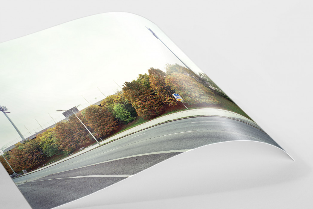 Witness Of Glory Times: München, Stadion an der Grünwalder Straße als FineArt-Print