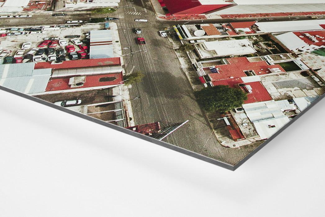 Stadion in Toluca als auf Alu-Dibond kaschierter Fotoabzug (Detail)