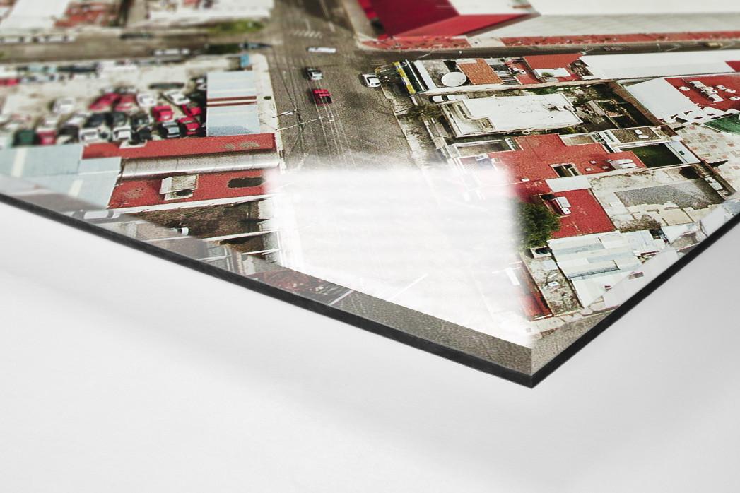 Stadion in Toluca als Direktdruck auf Alu-Dibond hinter Acrylglas (Detail)