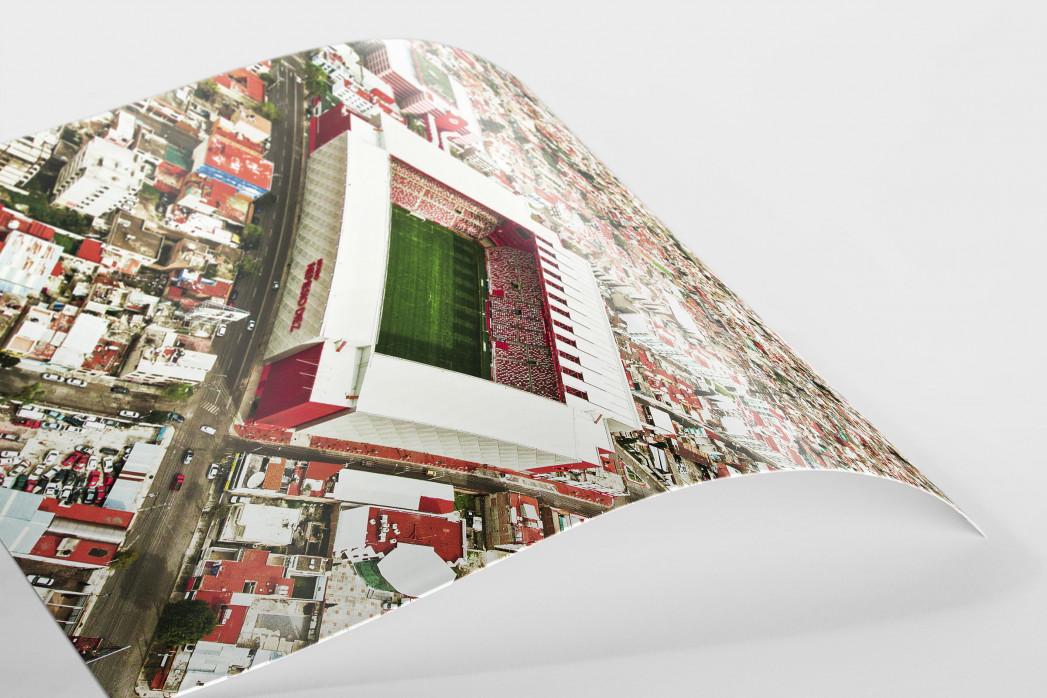 Stadion in Toluca als FineArt-Print