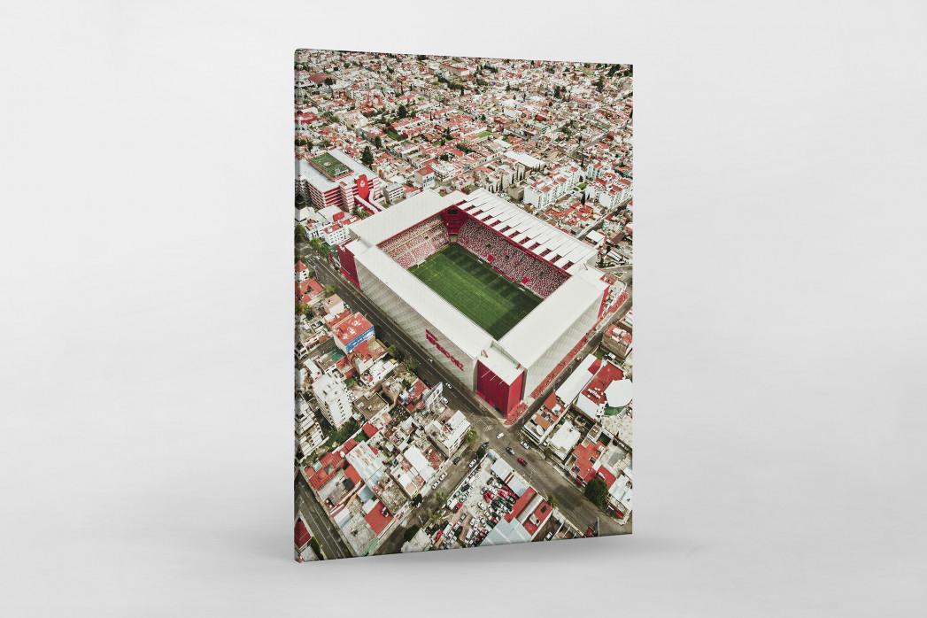 Stadion in Toluca als Leinwand auf Keilrahmen gezogen