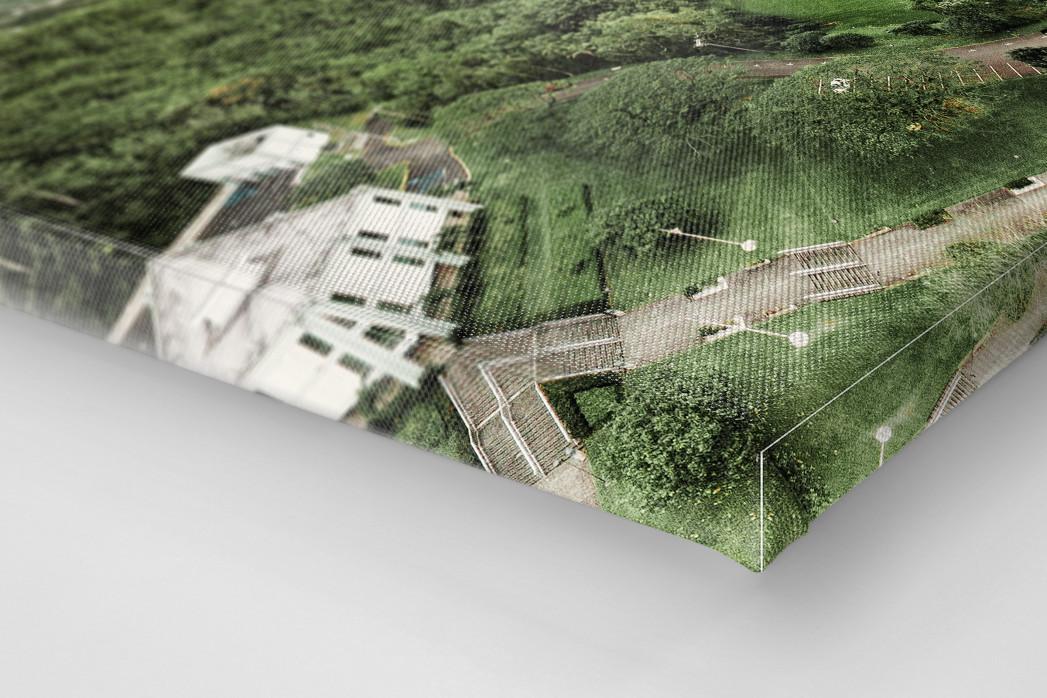 Fußballplatz in Honolulu als Leinwand auf Keilrahmen gezogen (Detail)
