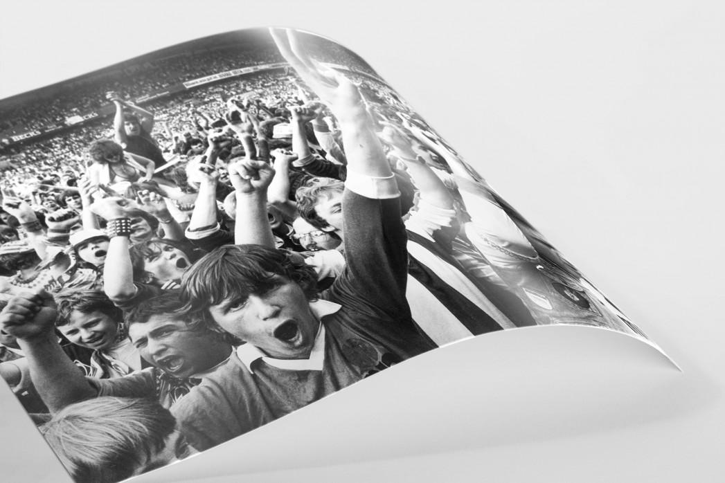Bremen Fans 1983 als FineArt-Print
