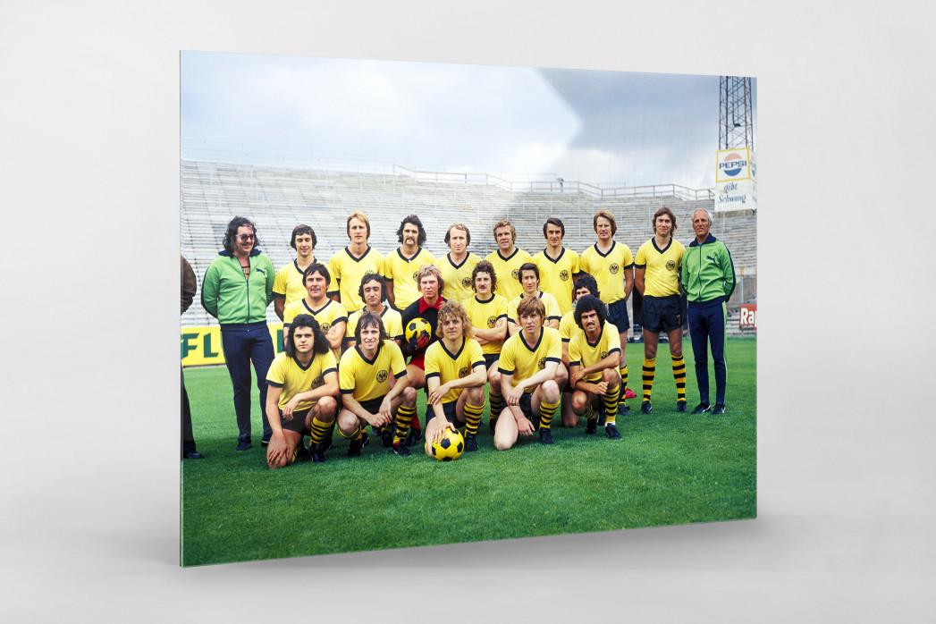 Aachen 1974/75 als Direktdruck auf Alu-Dibond hinter Acrylglas