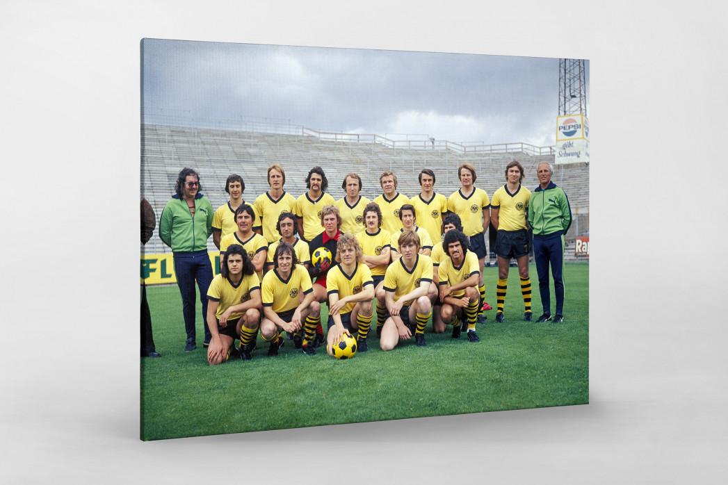 Aachen 1974/75 als Leinwand auf Keilrahmen gezogen