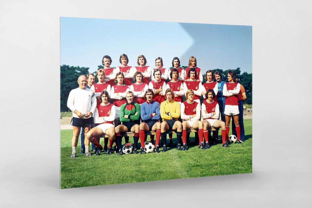 Köln 1974/75 als Direktdruck auf Alu-Dibond hinter Acrylglas