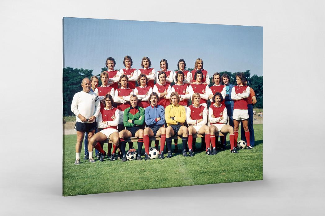 Köln 1974/75 als Leinwand auf Keilrahmen gezogen