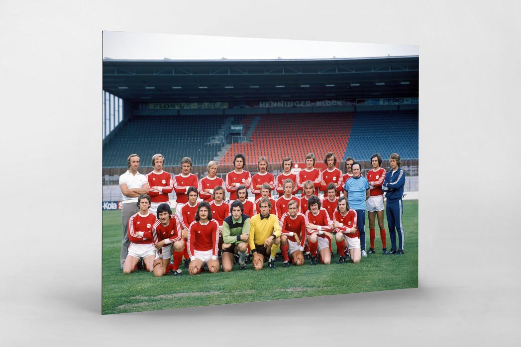 Offenbach 1975/76 als auf Alu-Dibond kaschierter Fotoabzug