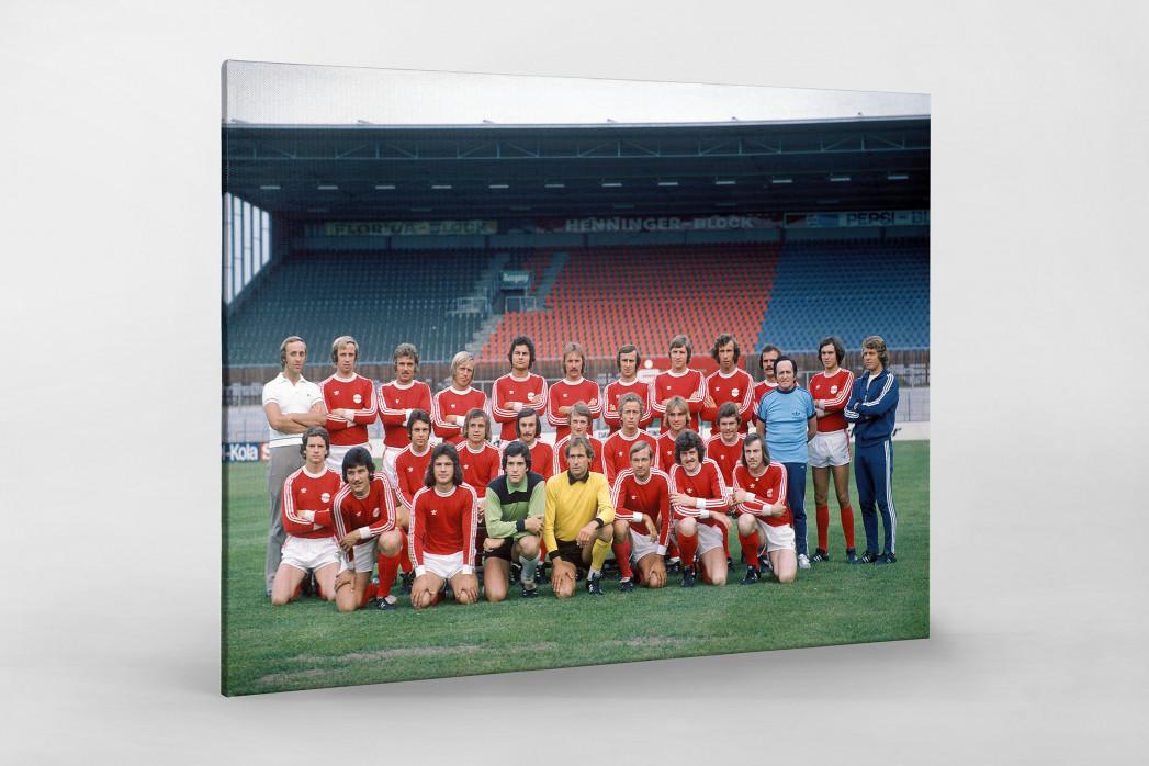 Offenbach 1975/76 als Leinwand auf Keilrahmen gezogen