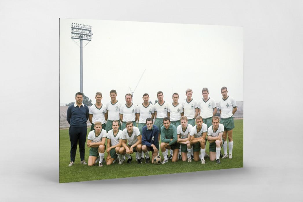 Bremen 1965/66 als auf Alu-Dibond kaschierter Fotoabzug