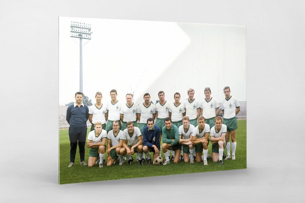 Bremen 1965/66 als Direktdruck auf Alu-Dibond hinter Acrylglas