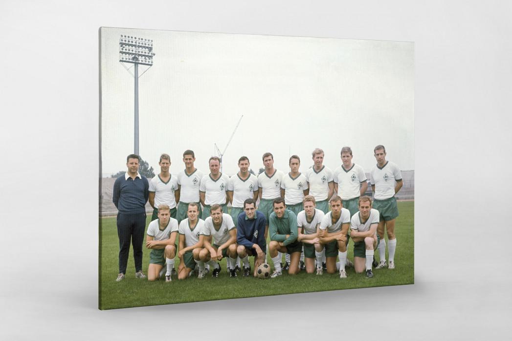 Bremen 1965/66 als Leinwand auf Keilrahmen gezogen