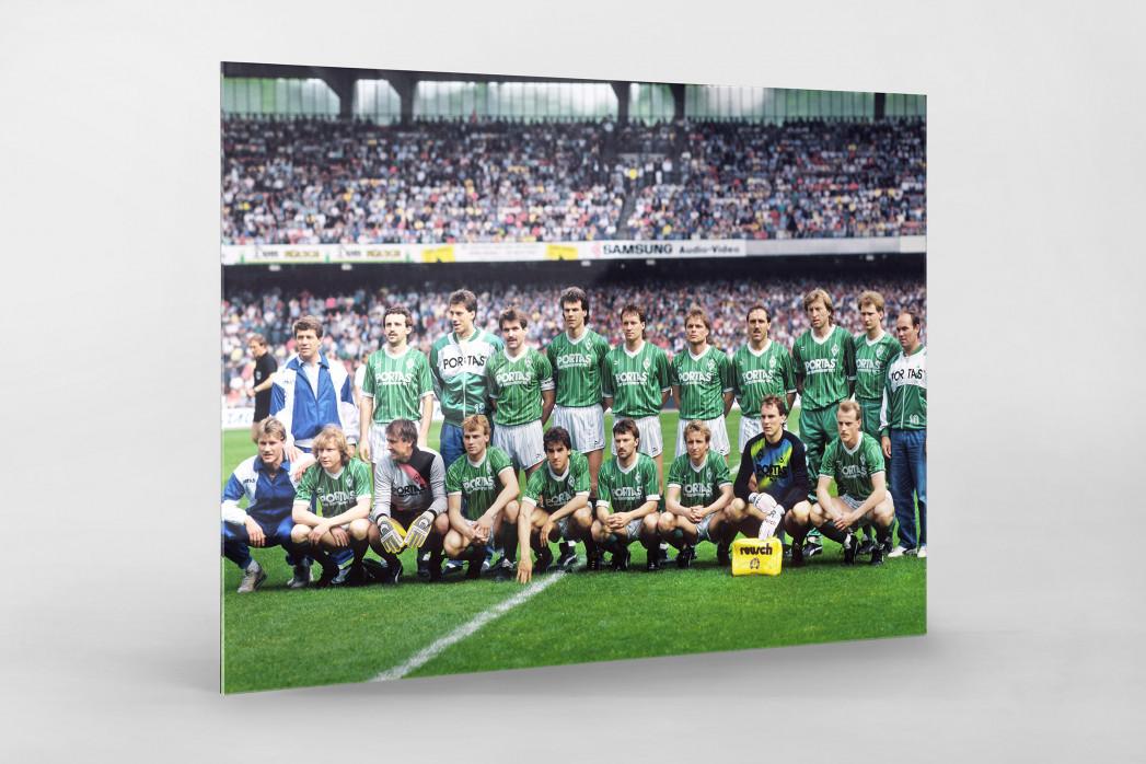 Bremen 1988 als Direktdruck auf Alu-Dibond hinter Acrylglas