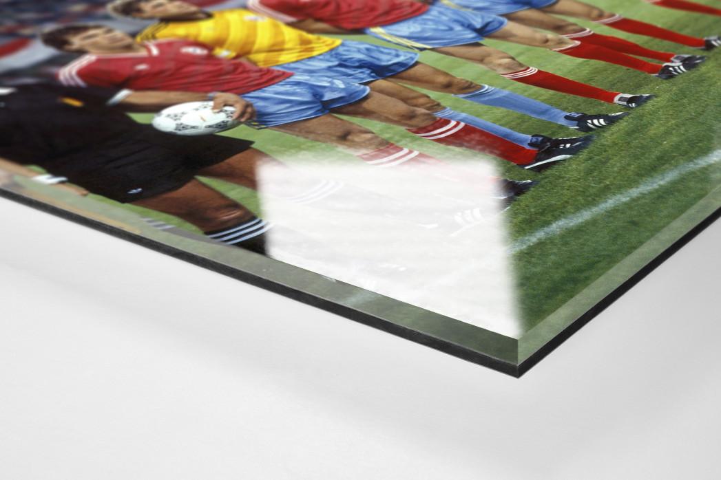 München im Praterstadion als Direktdruck auf Alu-Dibond hinter Acrylglas (Detail)