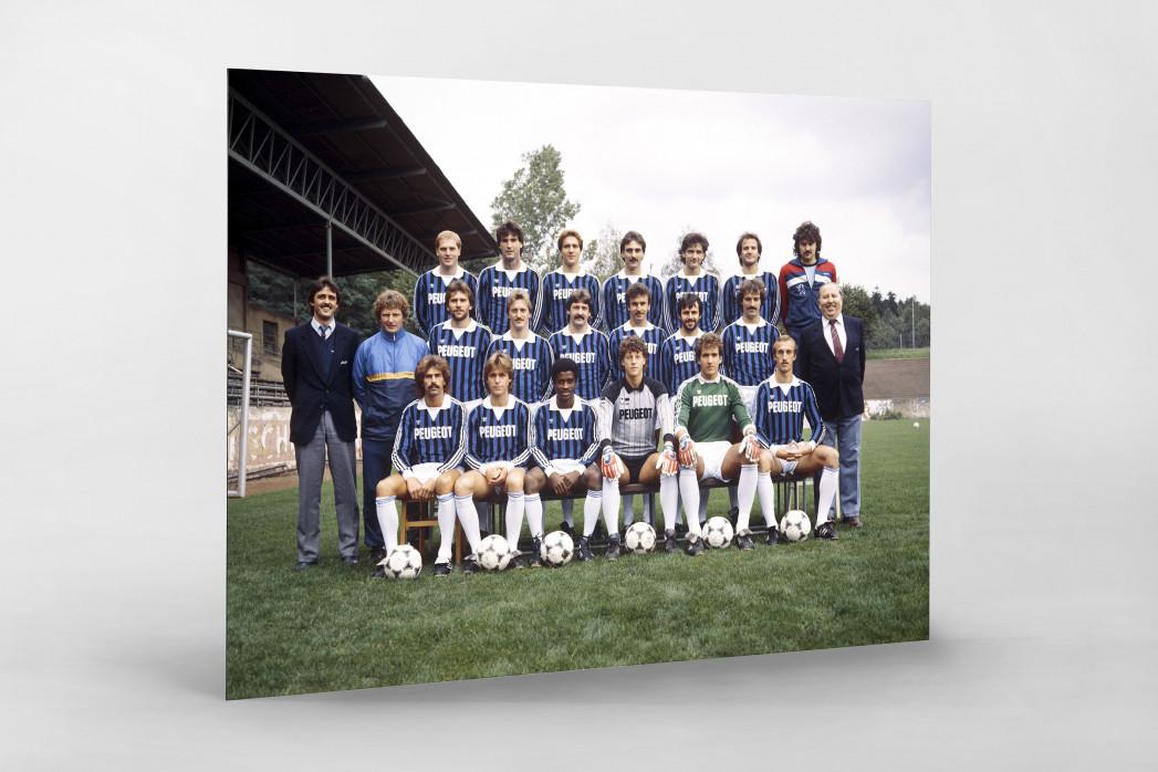 Saarbrücken 1984/85 als auf Alu-Dibond kaschierter Fotoabzug
