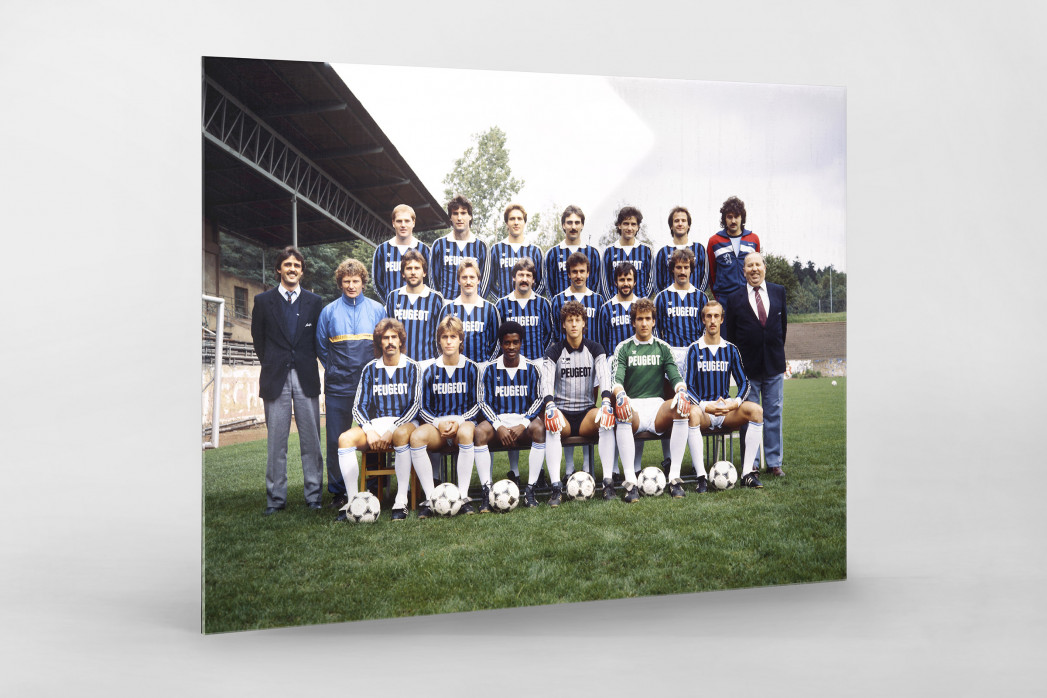 Saarbrücken 1984/85 als Direktdruck auf Alu-Dibond hinter Acrylglas
