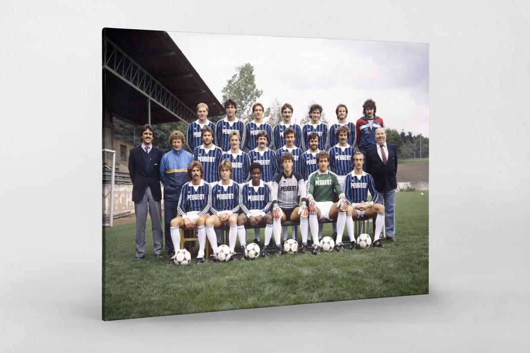 Saarbrücken 1984/85 als Leinwand auf Keilrahmen gezogen