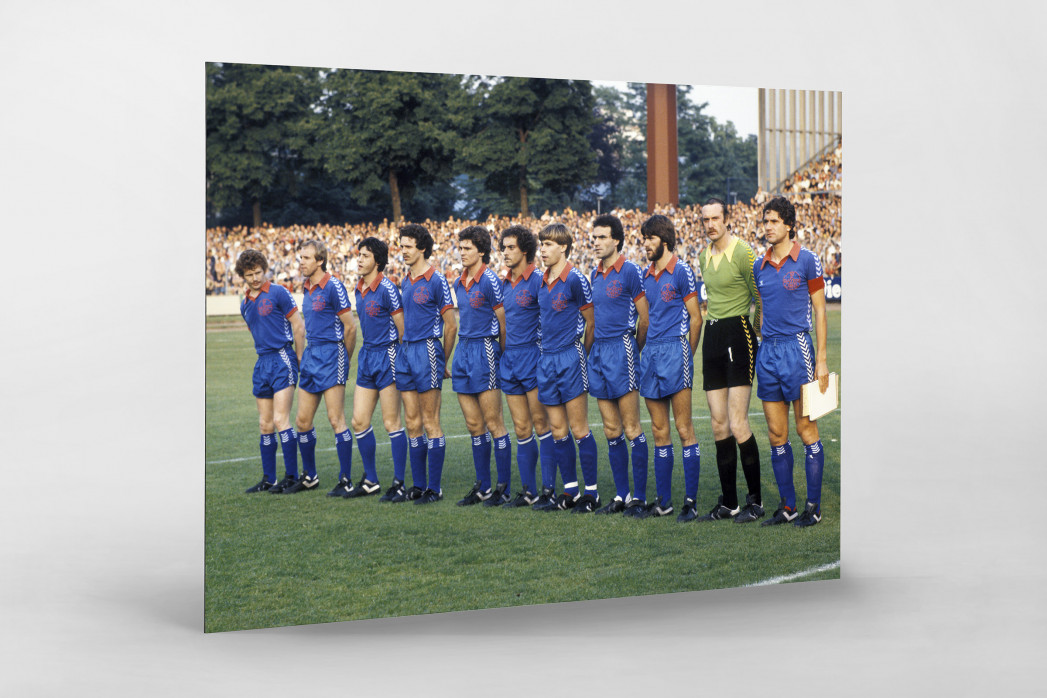 Uerdingen 1979  als auf Alu-Dibond kaschierter Fotoabzug