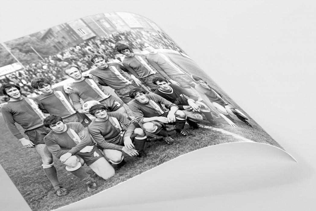 Halle 1972 als FineArt-Print