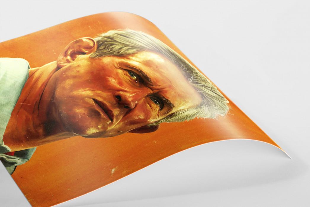 Jupp Heynckes  als FineArt-Print