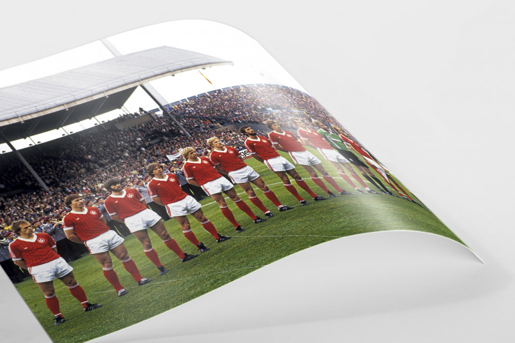 K'lautern im Pokalfinale 1981 als FineArt-Print