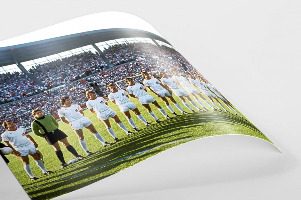 Köln im Pokalfinale als FineArt-Print