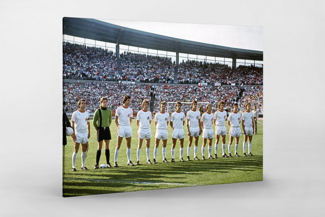 Köln im Pokalfinale als Leinwand auf Keilrahmen gezogen