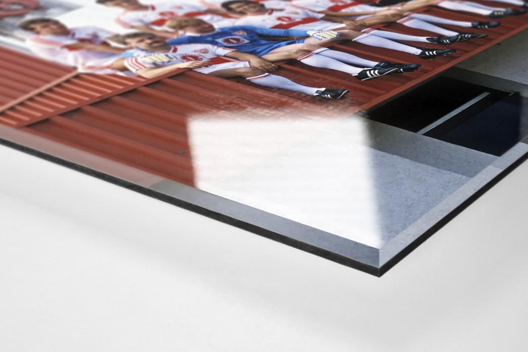 Stuttgart auf dem Dach als Direktdruck auf Alu-Dibond hinter Acrylglas (Detail)