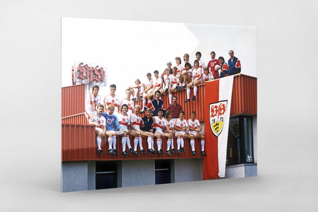 Stuttgart auf dem Dach als Direktdruck auf Alu-Dibond hinter Acrylglas