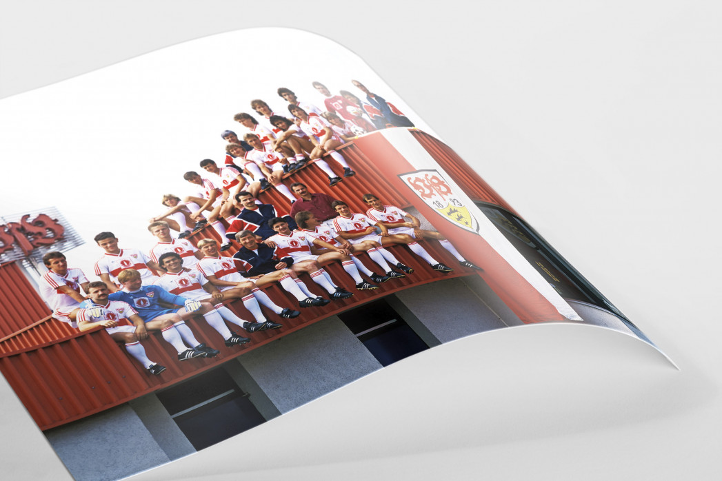 Stuttgart auf dem Dach als FineArt-Print
