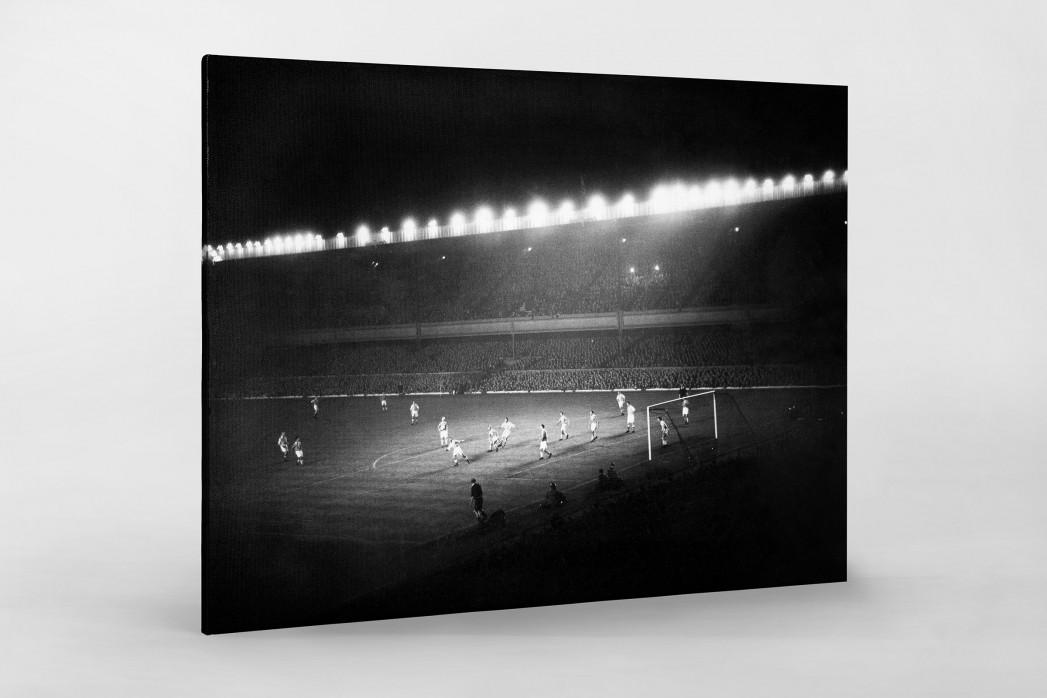 Highbury Flutlicht als Leinwand auf Keilrahmen gezogen