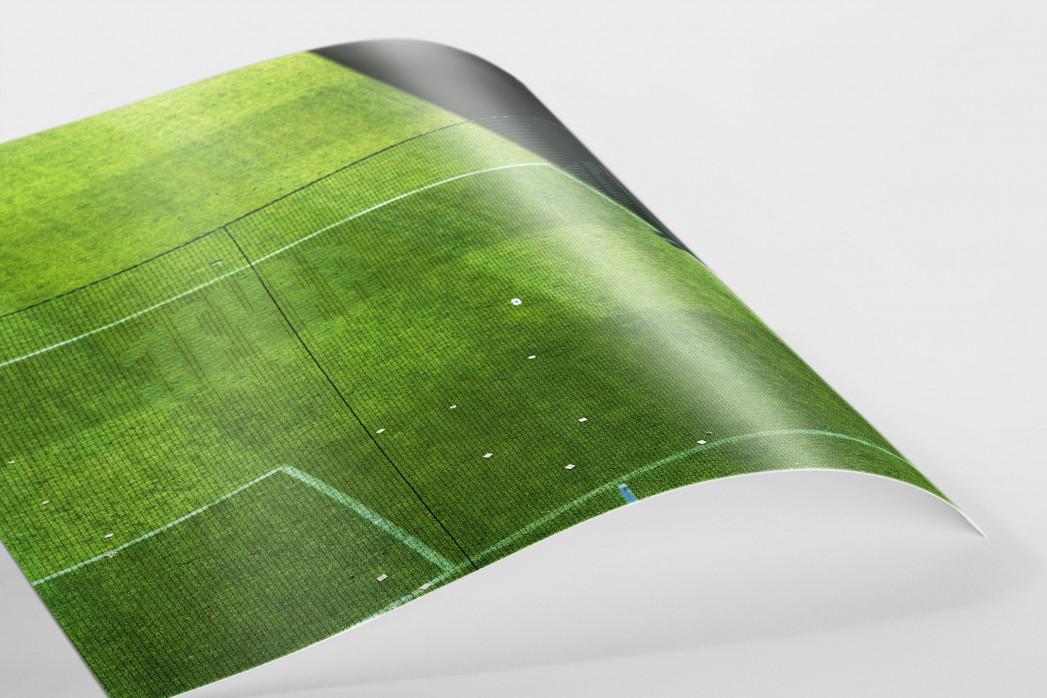 Spielfeldausschnitt Bökelberg als FineArt-Print
