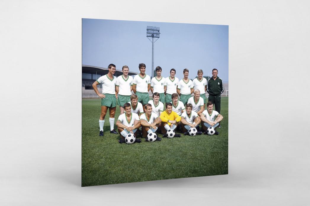 Bremen 1969/70 als auf Alu-Dibond kaschierter Fotoabzug
