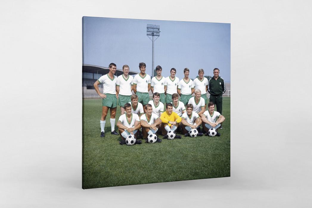 Bremen 1969/70 als Leinwand auf Keilrahmen gezogen