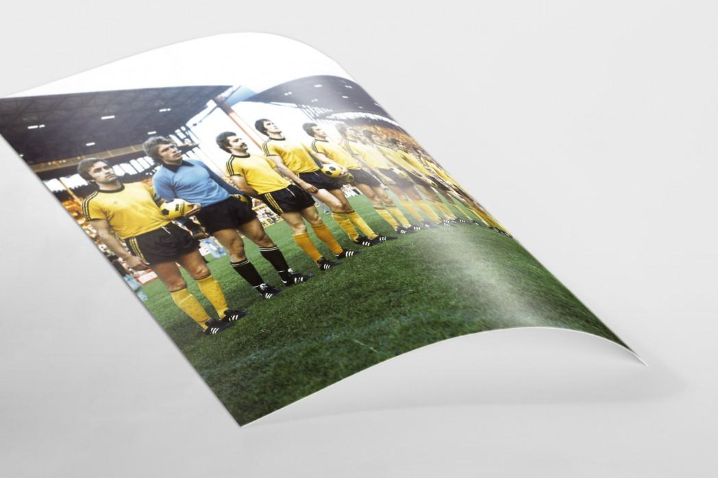 BVB 1976 als FineArt-Print