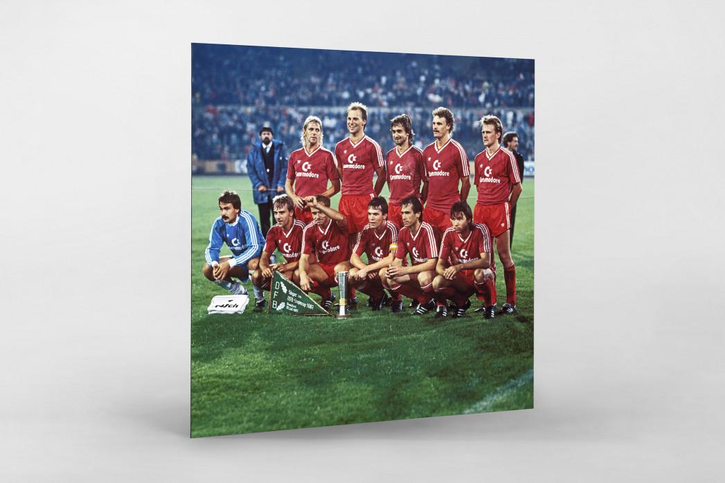 München im Waldstadion als auf Alu-Dibond kaschierter Fotoabzug