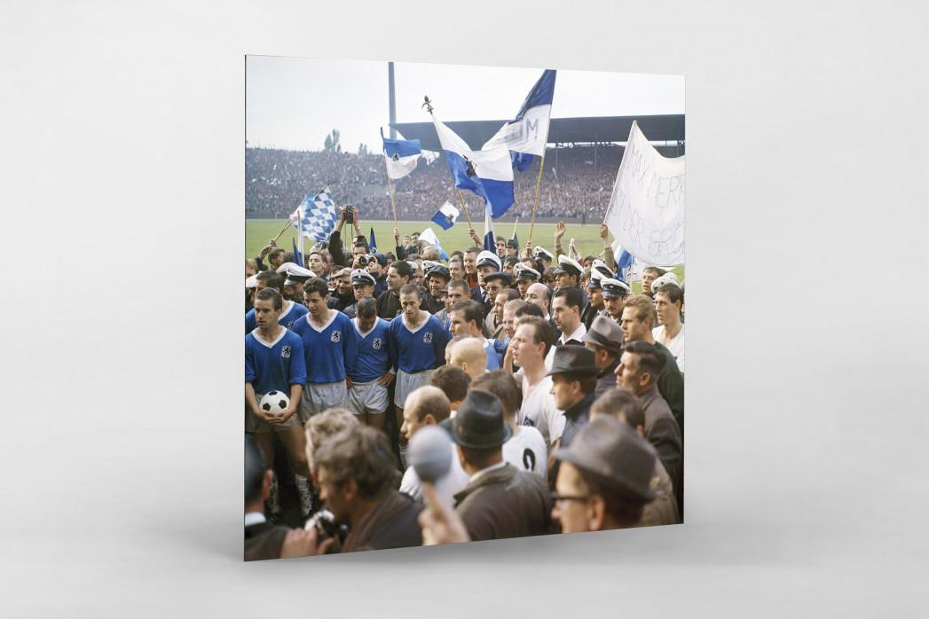 1860 München 1966 (1) als auf Alu-Dibond kaschierter Fotoabzug
