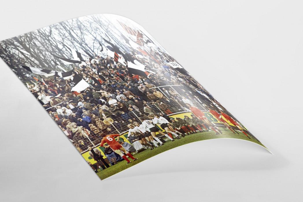 Frankfurter Torjubel als FineArt-Print