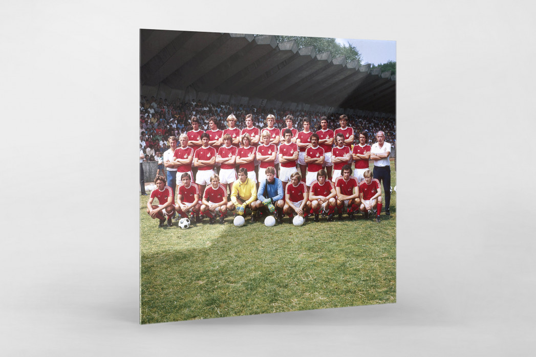 Köln 1976/77 als Direktdruck auf Alu-Dibond hinter Acrylglas