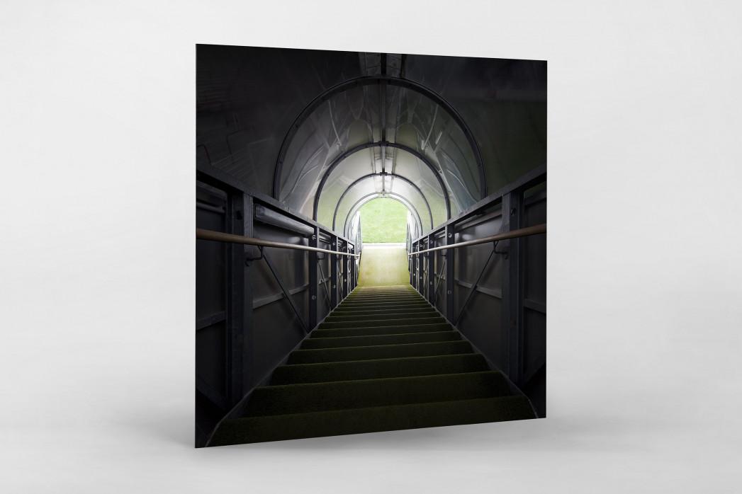 Spielertunnel Alte Försterei als auf Alu-Dibond kaschierter Fotoabzug
