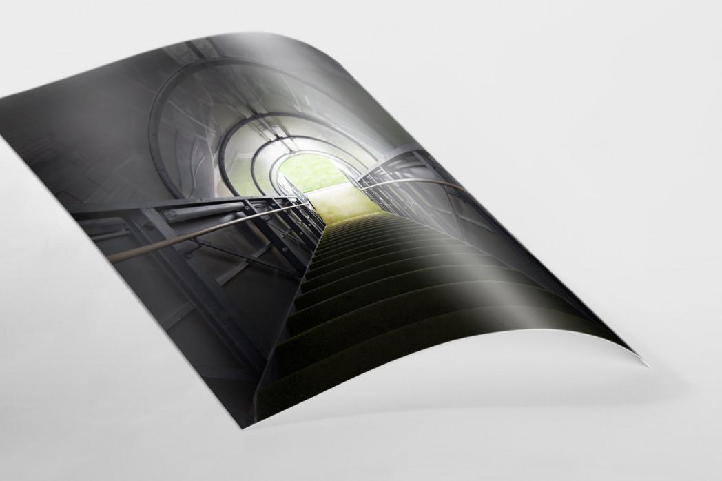 Spielertunnel Alte Försterei als FineArt-Print