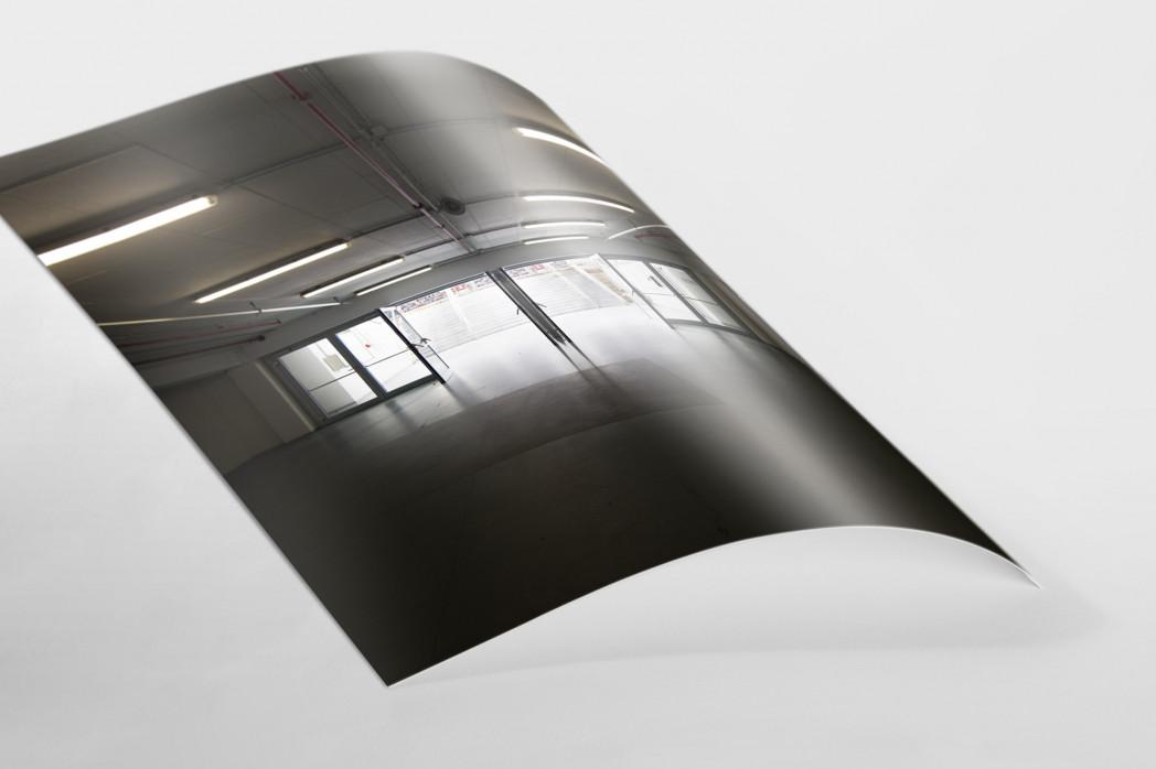 Spielertunnel ESPRIT arena als FineArt-Print